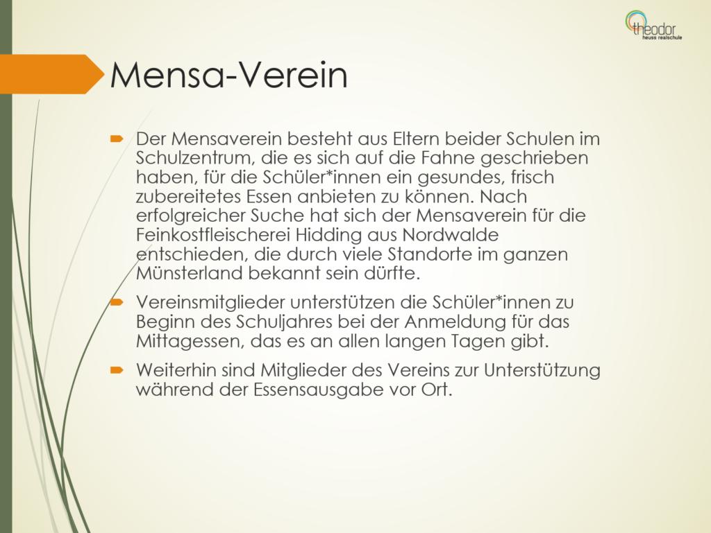 Mensa II