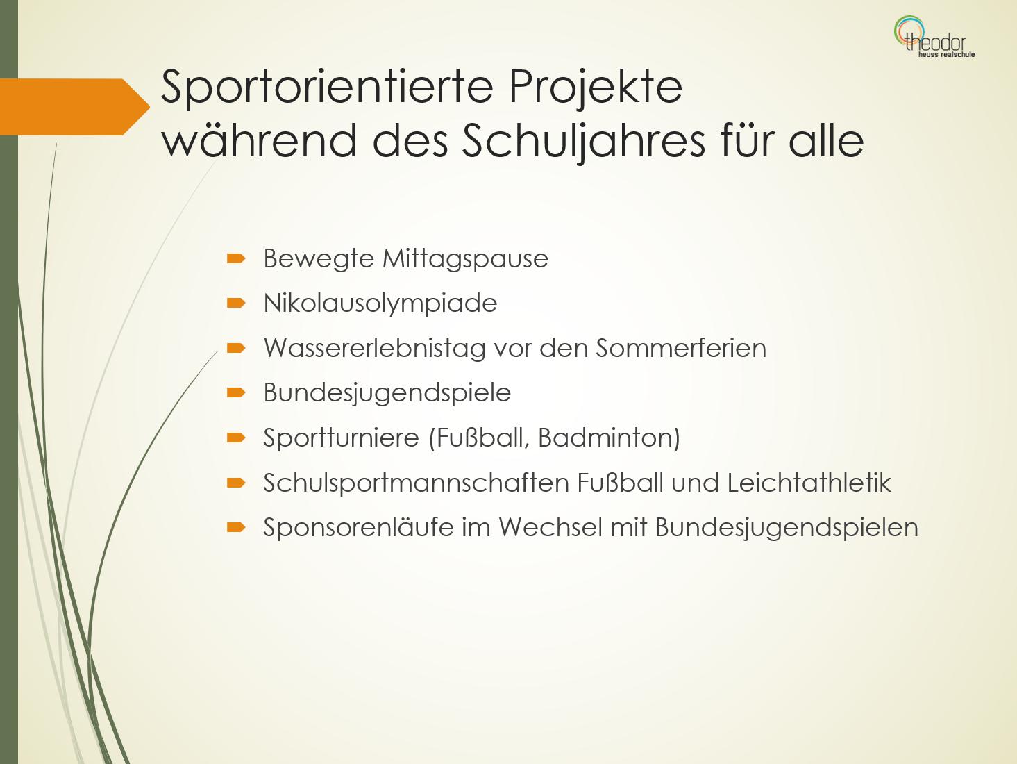 Sportprojekte